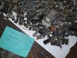 Микросхемы 155,157,174 и другие , позолота , вес 2.031.4г, фото №13