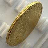 2,5 доллара. 1915. США (золото 900, вес 4,16 г), фото №9