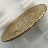 10 франков. 1866. Наполеон III (в венке). Франция (золото 900, вес 3,20 г), фото №8