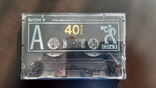 Касета Sony CDix II 40 (Release year: 1991), фото №2