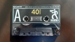 Касета Sony CDix II 40 (Release year: 1991), фото №5