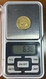 20 франков. 1818. Луи XVIII. Франция (золото 900, вес 6,38 г), фото №12