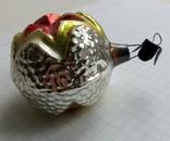 Елочная игрушка Шар со звездой СССР, фото №7