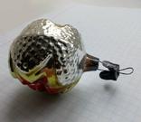 Елочная игрушка Шар со звездой СССР, фото №8