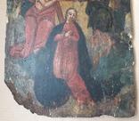 Икона 40 см х 29 см под Реставрацию, фото №6