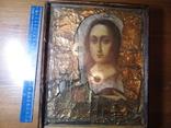 Старинная икона в киоте, фото №3