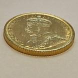 5 долларов. 1912. Георг V. Канада (золото 900, вес 8,37 г), фото №7