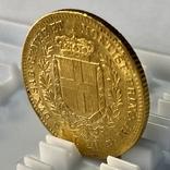 20 лир. 1859. Сардиния. (золото 900, вес 6,45 г), фото №10