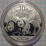 10 юань Панда 2013 года, 1 унция, фото №2