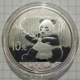 Панда 2017 года 10 юань, фото №2