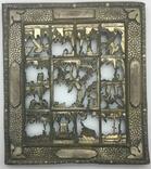 """Посеребрёный оклад на икону """"Двунадесятые Праздники"""", Середина 19 века, фото №2"""