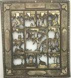 """Посеребрёный оклад на икону """"Двунадесятые Праздники"""", Середина 19 века, фото №3"""