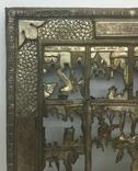 """Посеребрёный оклад на икону """"Двунадесятые Праздники"""", Середина 19 века, фото №6"""