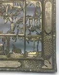 """Посеребрёный оклад на икону """"Двунадесятые Праздники"""", Середина 19 века, фото №8"""