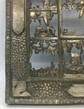 """Посеребрёный оклад на икону """"Двунадесятые Праздники"""", Середина 19 века, фото №9"""
