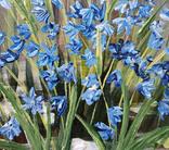 Картина, Перші квіти, 25х20 см. Живопис на полотні, фото №6