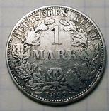 1 марка 1893 г. (А), Германия, фото №2