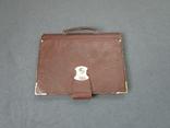 Старенький портфель Мосштамп СССР (с ключом), фото №2