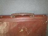 Старенький портфель Мосштамп СССР (с ключом), фото №10