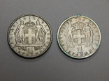 2 монеты по 1 драхме, Греция, фото №2