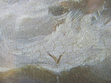 Корабли у берегов Ли. Джеймс Уилсон Кармайкл. Репродукция. 40х29,5 см., фото №5