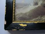Корабли у берегов Ли. Джеймс Уилсон Кармайкл. Репродукция. 40х29,5 см., фото №6
