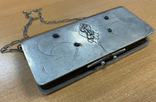 Серебряная сумочка 84 пробы, фото №2