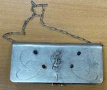Серебряная сумочка 84 пробы, фото №3