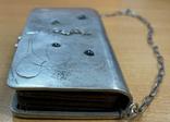 Серебряная сумочка 84 пробы, фото №7