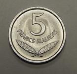 5 франков, 1961 г Мали, фото №2