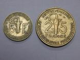 5 и 25 франков, Французская Африка, фото №2