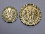 5 и 25 франков, Французская Африка, фото №3