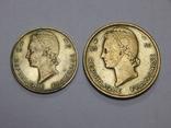 10 и 25 франков, 1956 г Французская Африка, фото №3