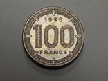 100 франков, 1966 г Центральная Африка, фото №2