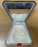 Серебряная пудреница 875 пробы, фото №10