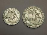 2,5 и 5 эскудо, 1951 г Португалия, фото №3