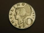 10 шиллингов, 1957 г Австрия, фото №2