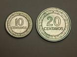 10 и 20 центавос, Колумбия, фото №2