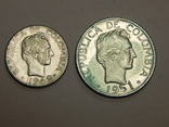 10 и 20 центавос, Колумбия, фото №3