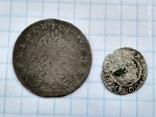 6 грошей Пруссия + динар1608, фото №3