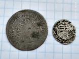 6 грошей Пруссия + динар1608, фото №2