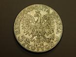 5 злотых, 1933 г Польша, фото №2