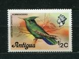 Антигуа, птица. MNH 1976 г., фото №2