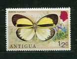 Антигуа, бабочка. MNH 1975 г., фото №2