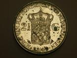 2,5 гульдена, 1940 г Нидерланды, фото №2