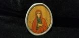 Икона БМ старинная. Металл. Серебро., фото №7