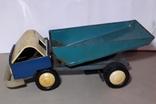Грузовая машинка КИЕВ з-д СССР ,клеймо,длина 28 см., фото №9