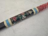 Ручка ИТК с цветами, фото №4