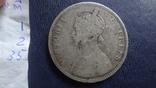 1 рупия 1877 Британская Индия серебро (1.2.35), фото №6