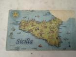 Сувенір Sicilia Palermo Сицилия конь с бричкой, фото №6
